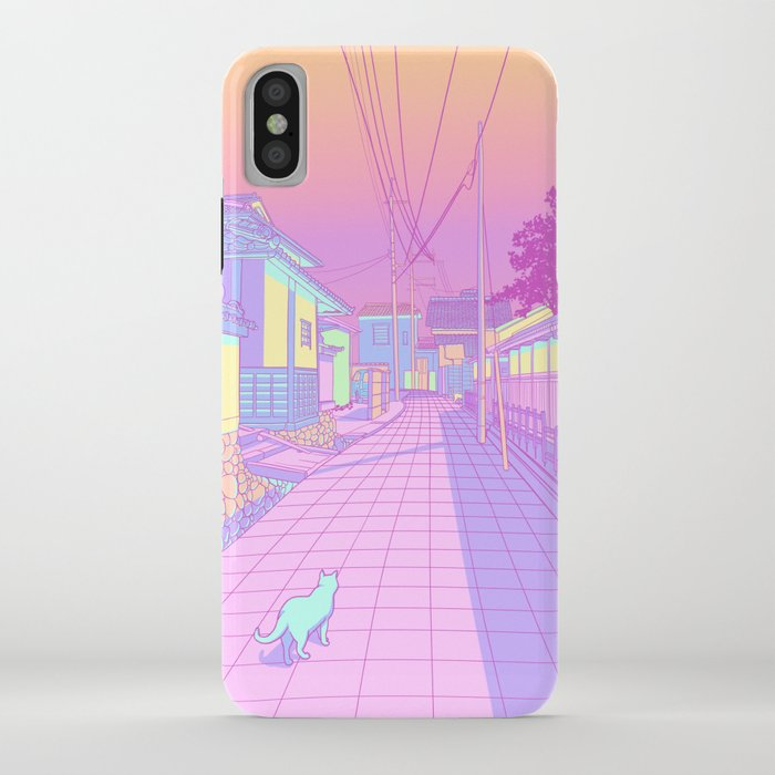 kyoto cats iphone case