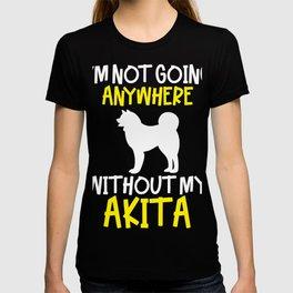 Akita Dog Christmas Gift T-Shirt T-shirt