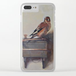 The Goldfinch Clear iPhone Case