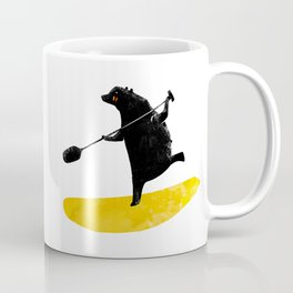 Paddling Bear loves his paddle board and surfing in the ocean. Coffee Mug