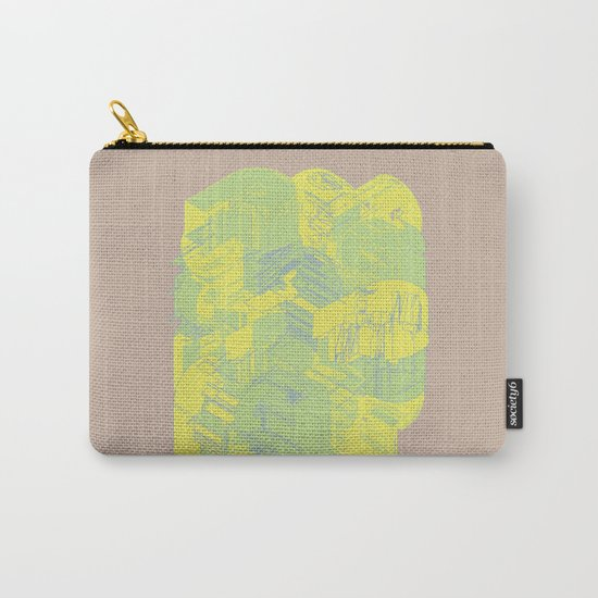 Typographic Wasteland Carry-All Pouch
