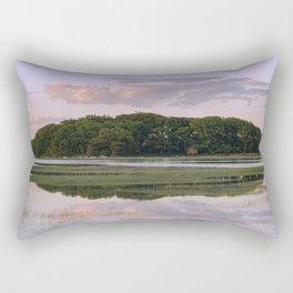 Annisquam river reflections Rectangular Pillow
