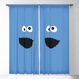 SESAME STREET cookie monster Blackout Curtain