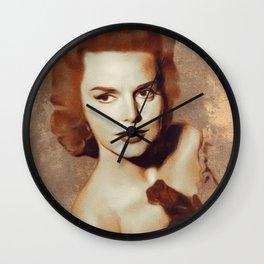 Barbara Lang, Movie Legend Wall Clock