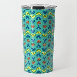 Sea for fun (green) Travel Mug
