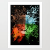 Elements - seasons  Art Print