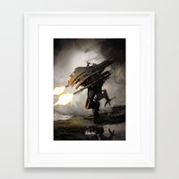 revolution Framed Art Prints featuring Revolution! by Abdudavids