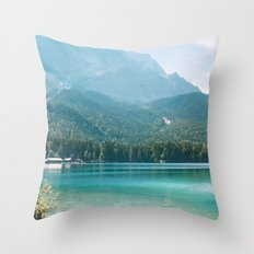 Eibsee #1 Throw Pillow