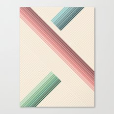 Vintage Geometric Canvas Print