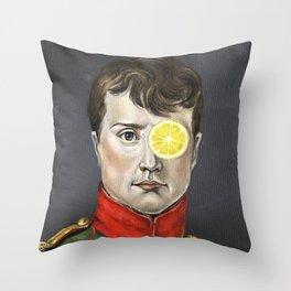 Napoleon Lemonade Throw Pillow