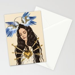 """The seven sorrows of Lana"" Stationery Cards"