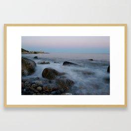 Point Judith Sunset Framed Art Print