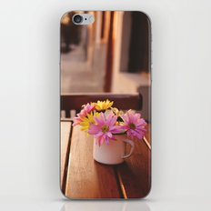 Flowers in the street iPhone & iPod Skin