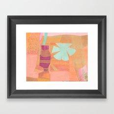 Peach Melba Framed Art Print