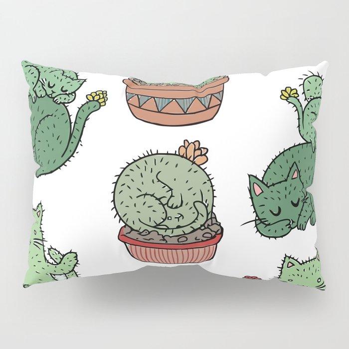 Cactus Cats Pillow Sham