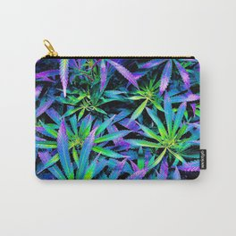 Neon Cannabis Carry-All Pouch