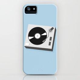 Turntable Illustration iPhone Case