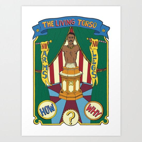 The Living Torso Art Print