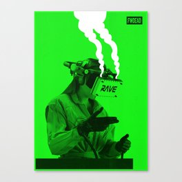 VR Rave Canvas Print
