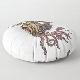 Octopus Diver Floor Pillow