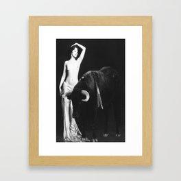 Bullish Framed Art Print