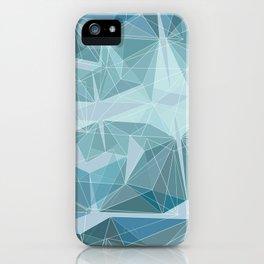 Winter geometric style - minimalist iPhone Case