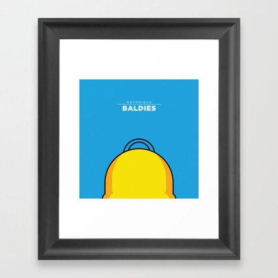 Homer Simpson Framed Art Print