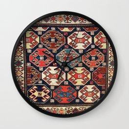 Shahsavan Moghan Southeast Caucasus Khorjin Print Wall Clock