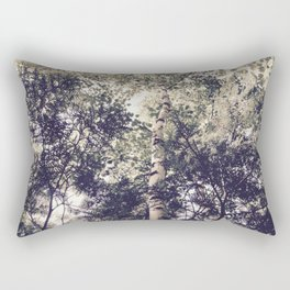 Dappled Light Filtered Through Trees Rectangular Pillow