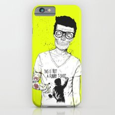 hipsters not dead iPhone 6 Slim Case