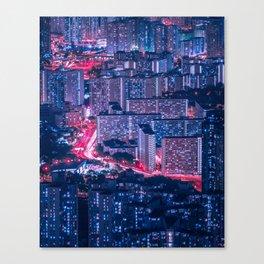 Hong Kong density Canvas Print