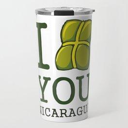 I nacatamal You Nicaragua Travel Mug