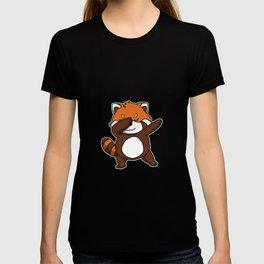 Funny Dabbing Red Panda Dab Panda Bear Lover Gift T-shirt