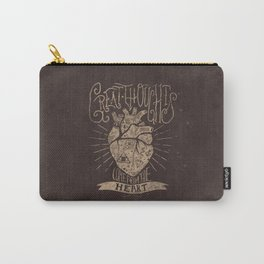Great Thoughts Carry-All Pouch