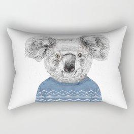 Winter koala Rectangular Pillow