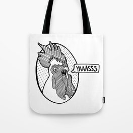 YAAASSS Rooster Tote Bag