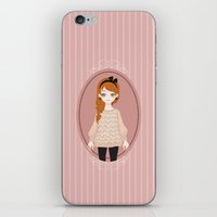 lucy iPhone & iPod Skins featuring Lucy by Ruxi Li