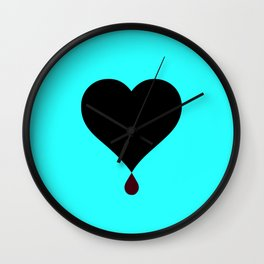 Love Hurts Wall Clock