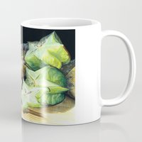 fruit Mugs featuring FRUIT by Anne Hviid Nicolaisen