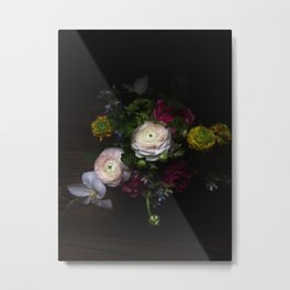 Still life with Ranunculus Metal Print
