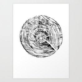 Fragment pine Art Print