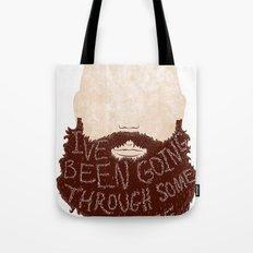 I've Been Going Through Some Stuff - Beard Tote Bag