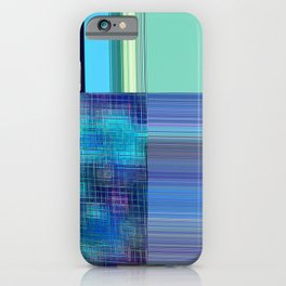 Re-Created Northern Cross11 by Robert S. Lee iPhone Case