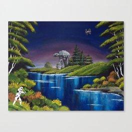 """Blue River Invasion"" Canvas Print"