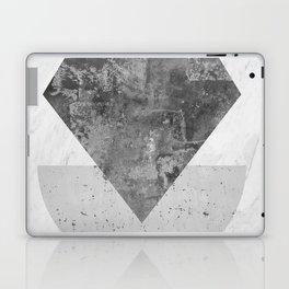 Geometric and minimalist marble VI Laptop & iPad Skin