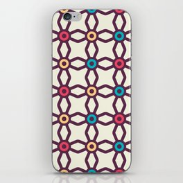 Connecting Stars Boho Pattern iPhone Skin