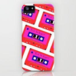 peep the new track iPhone Case