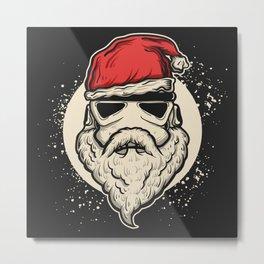 Trooper Christmas Metal Print