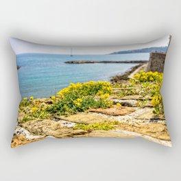 Antibes Fortress Wall Rectangular Pillow