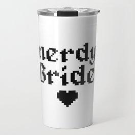 nerdy bride wedding geek computer gift Travel Mug